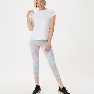 Tracy Anderson for G.I.L.I. Black Crop Leggings